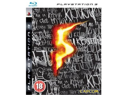 PS3 Resident Evil 5: Limited Edition Steelbook