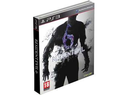 PS3 Resident Evil 6 Steelbook Edition