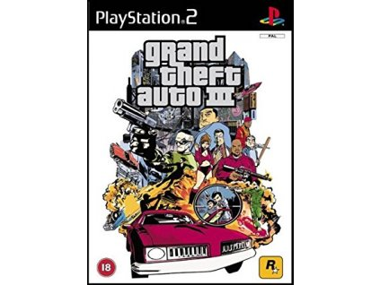 PS2 Grand Theft Auto III (GTA 3)
