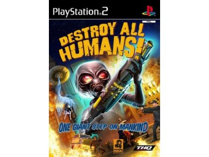 PS2 Destroy All Humans!