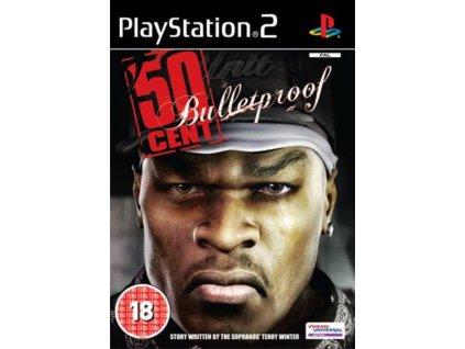 PS2 50 Cent Bulletproof