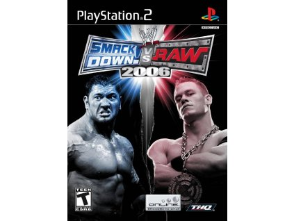 PS2 WWE SmackDown! vs. Raw 2006