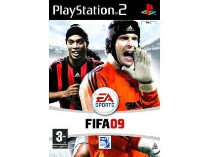 PS2 FIFA 09 CZ