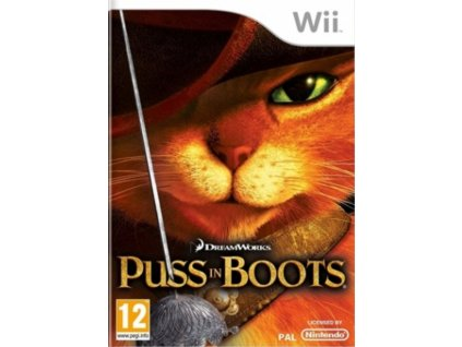 Wii puss in boots