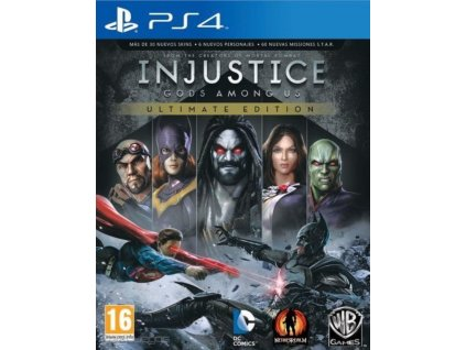 PS4 Injustice Gods Among Us Ultimate Edition