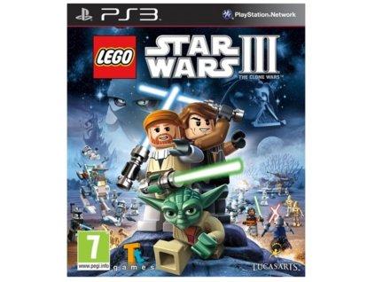PS3 LEGO Star Wars 3 The Clone Wars essentials