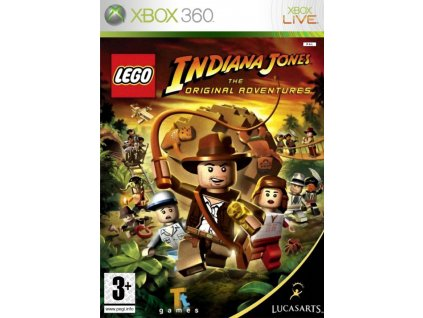 XBOX 360 LEGO Indiana Jones The Original Adventures