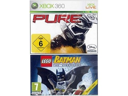 XBOX 360 Double Pack Pure + Lego Batman