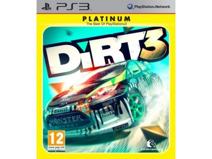 PS3 DIRT 3 PLATINUM