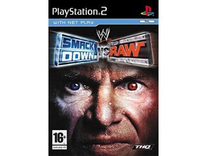 PS2 WWE SmackDown Vs Raw