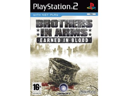PS2 Brothers in Arms: Earned In Blood