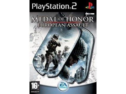 PS2 Medal of Honour: European Assault