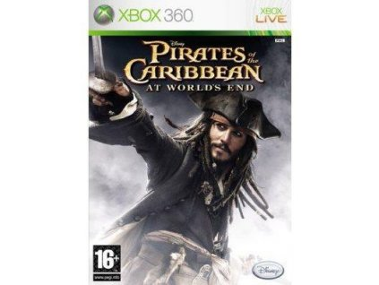 XBOX 360 pirates of caribbean : at world's end