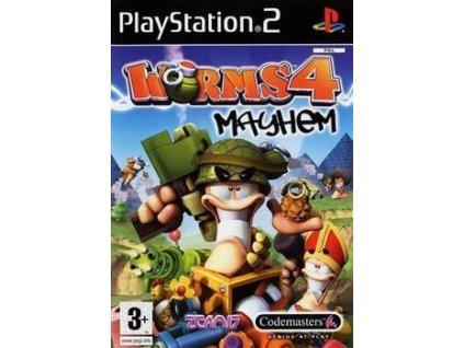 PS2 Worms 4 Mayhem