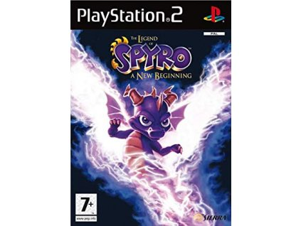 PS2 The Legend of Spyro: A New Beginning