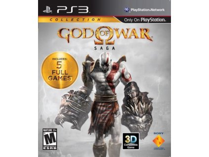 PS3 God of War Saga