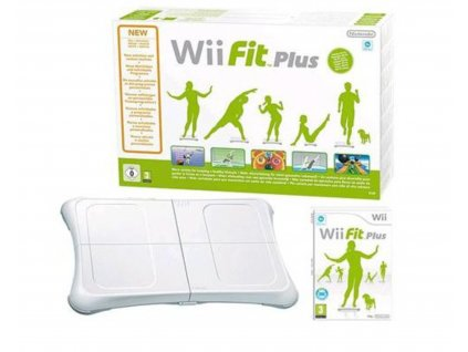 wii balance board plus + wii fit