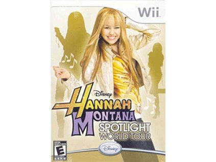 Wii Hannah Montana: Spotlight World Tour