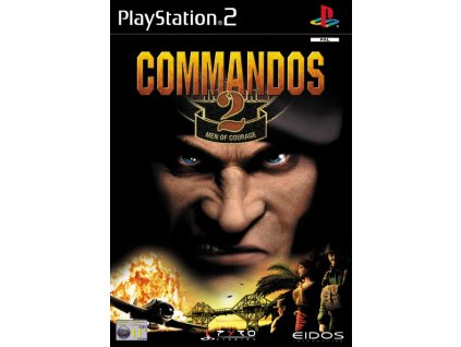 PS2 Commandos 2: Men of Courage