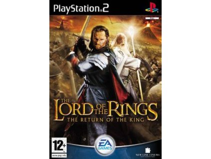PS2 Lord of the Rings: Return of the King