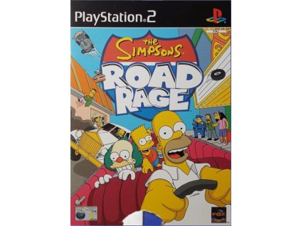 PS2 The Simpsons Road Rage