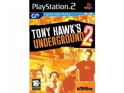 PS2 Tony Hawk´s Underground 2