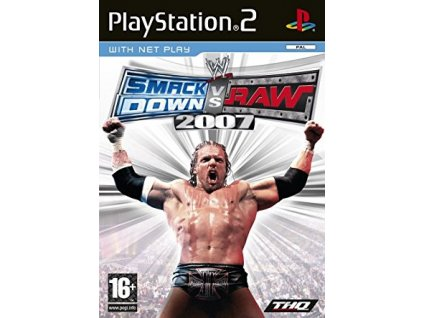 PS2 WWE SmackDown! vs. Raw 2007