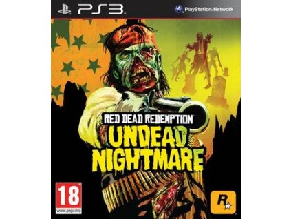 PS3 Red Dead Redemption - Undead Nightmare