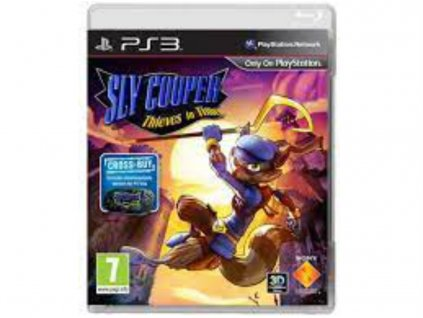 PS3 Sly Cooper Thieves in Time CZ dabing