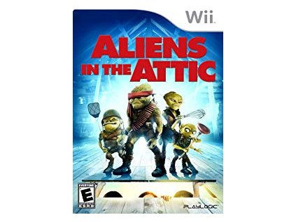 Wii Aliens in the Attic