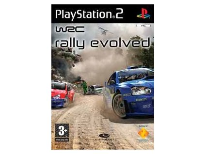 PS2 WRC: Rally Evolved