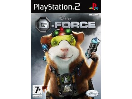 PS2 G-force game