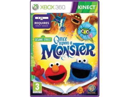 XBOX 360 Sesame Street Once Upon a Monster
