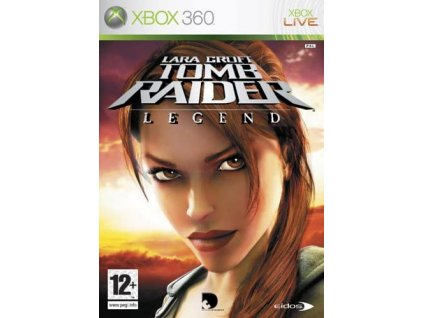 XBOX 360 Tomb Raider Legend classics