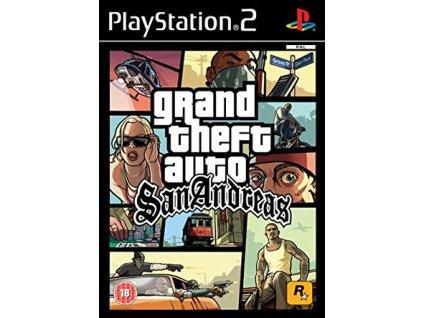 PS2 GTA San Andreas