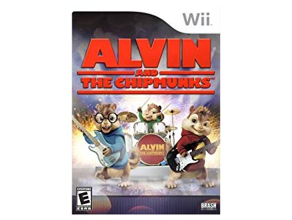 Wii Alvin and the Chipmunks