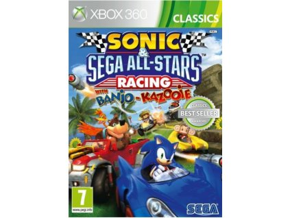 XBOX 360 Sonic and SEGA All Stars Racing with Banjo Kazooie