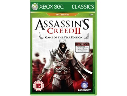 XBOX 360 Assassins Creed II Game of The Year Edition
