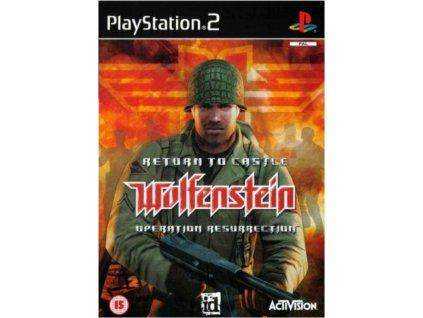 PS2 Return to Castle Wolfenstein Operation Resurrection