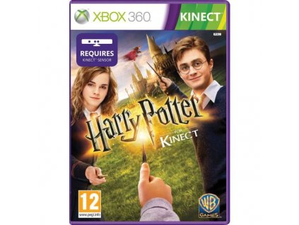 XBOX 360  Harry Potter Kinect
