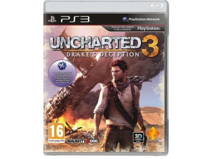 PS3 Uncharted 3 : Drakes Deception CZ