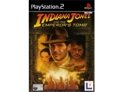 PS2 Indiana Jones and the Emperor's Tomb