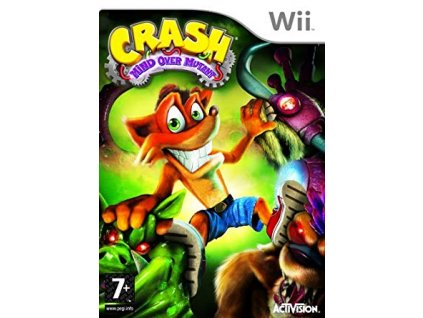 Wii Crash Bandicoot: Mind Over Mutant