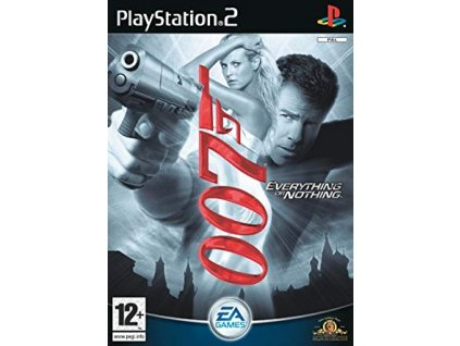 PS2 James Bond 007: Everything or Nothing