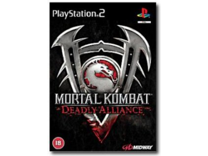 PS2 Mortal Kombat Deadly Alliance
