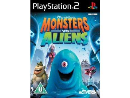monsters vs aliens PS2