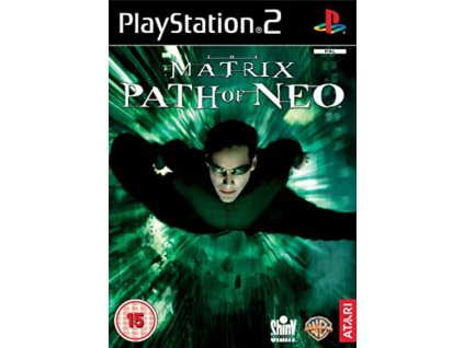 PS2 The Matrix Path of Neo