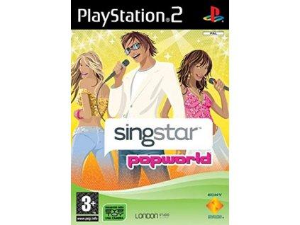 PS2 SingStar Popworld