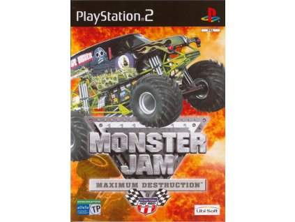PS2 Monster Jam Maximum Destruction