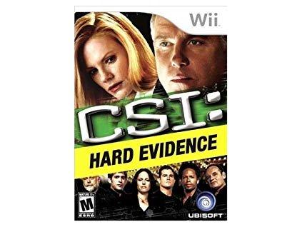 Wii CSI: Crime Scene Investigation: Hard Evidence